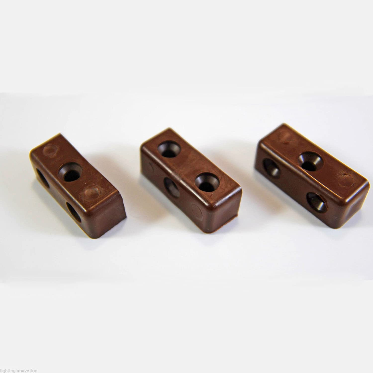 BROWN MODESTY Mod Block Kitchen Cabinet Cupboard Fixing Joint Connector