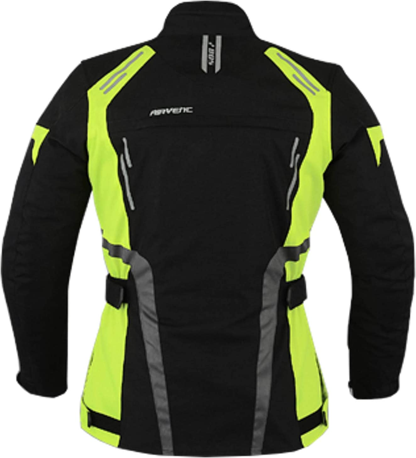XL, Jassi Motorrad Damen Wasserdicht Jacke mit Protektoren Sommer Winter Textil Frauen