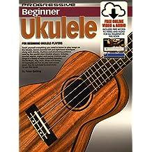 Progressive Beginner Ukulele Bk&2DVDs&CD&DVD-ROM