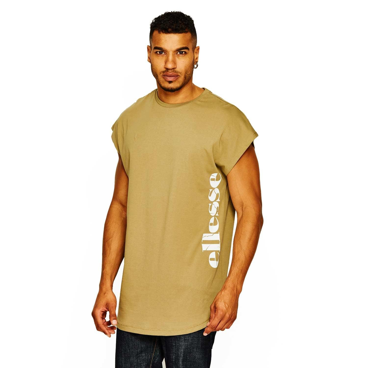 9d929ade Ellesse Men's Etna Long Fit Tee: Amazon.co.uk: Sports & Outdoors