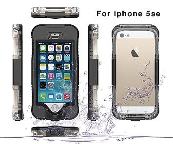 Moonmini iPhone 5SE 5S 5 Funda, reg; Impermeable Waterproof ...