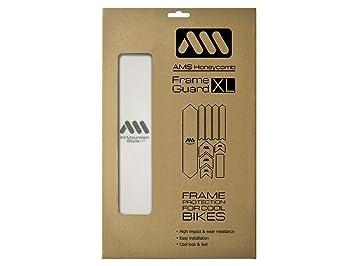 All Mountain Style AMSFG2CLSV Protector de Cuadro, Unisex adulto, Transparente / Plata, XL