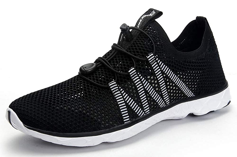 SUOKENI Mens Quick Drying Slip On Water Shoes for Beach or Water Sports