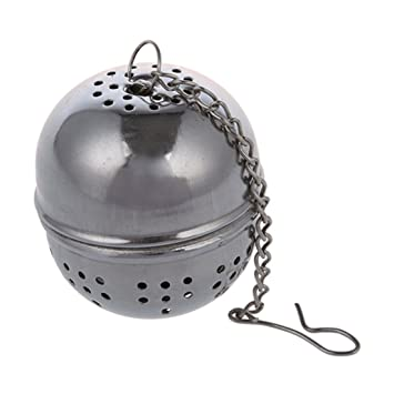 SODIAL(R) Colador de Te Bola infusora Reutilizable de Acero ...