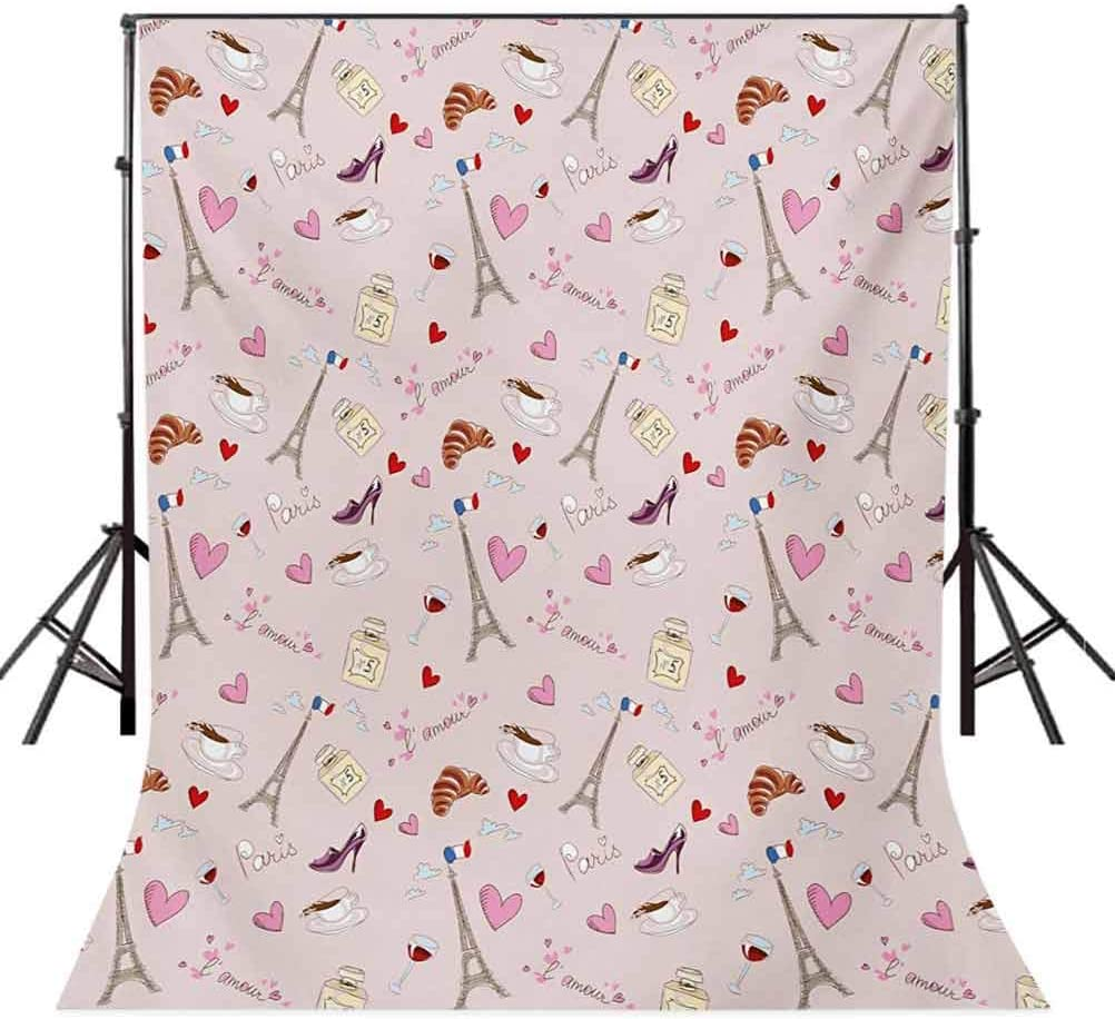 8x10 FT Backdrop Photographers,A Flock of Swimming Fish Hand Drawn Design Underwater Life Theme Doodle Background for Kid Baby Boy Girl Artistic Portrait Photo Shoot Studio Props Video Drape Vinyl