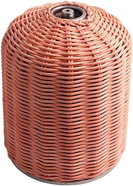 ADIUMA 230g Cilindro de Gas de ratán Cubierta Decorativa ...