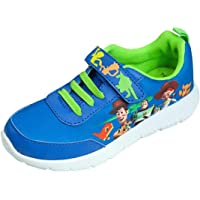 Toy Story 4 Woody Buzz & Jessie Kids Casual Trainers Shoes Hook and Loop