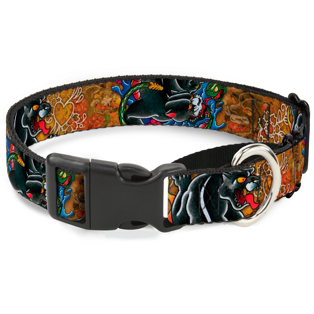 Buckle-Down MGC-W32024-L Martingale Dog Collar, 1  Wide-Fits 15-26  Neck-Large