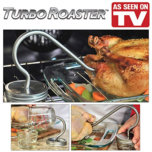 Turbo Roaster (As Seen On TV) - Cooks Chicken Or Turkey In Half The Time