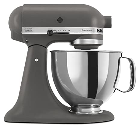 Amazon.com: KitchenAid KSM150PSGR Artisan Series 5-Qt. Stand Mixer with Pouring Shield - Imperial Grey: Electric Stand Mixers: Kitchen & Dining