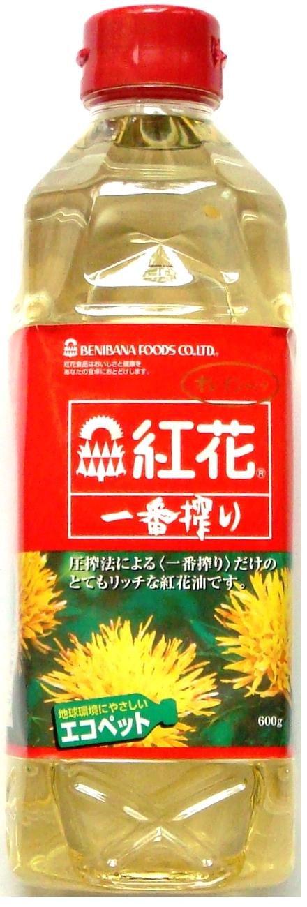Safflower safflower oil Ichiban Shibori 600g