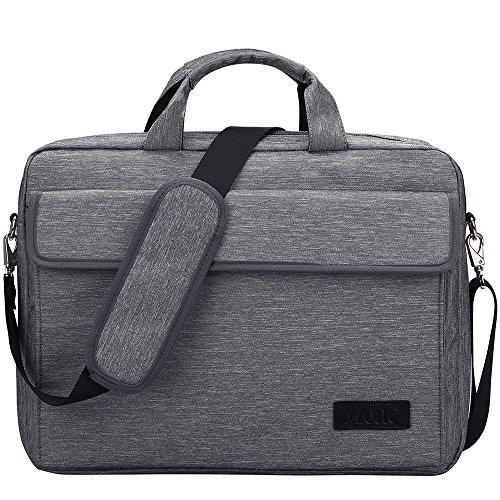S-ZONE Vintage Laptop Sleeve Briefcase Messenger Shoulder Bag for 15.6 Inch Laptop/Notebook / MacBook/Ultrabook / Chromebook Computers