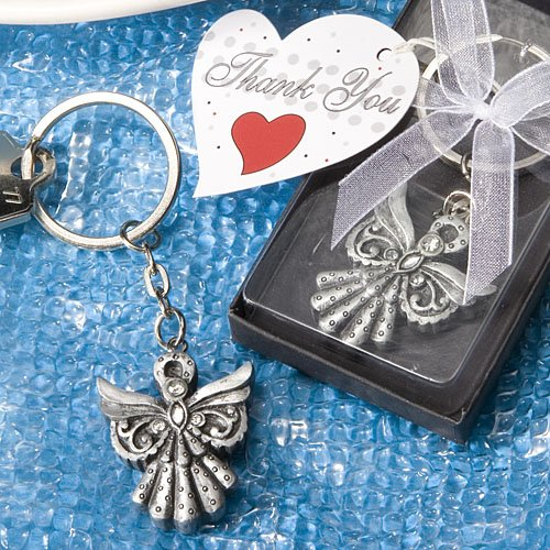 Angel Key Chain Favors, 1 - Keychains You Thank Wedding