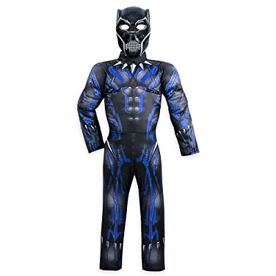 Marvel Black Panther Light-Up Costume for Kids: Home & Kitchen