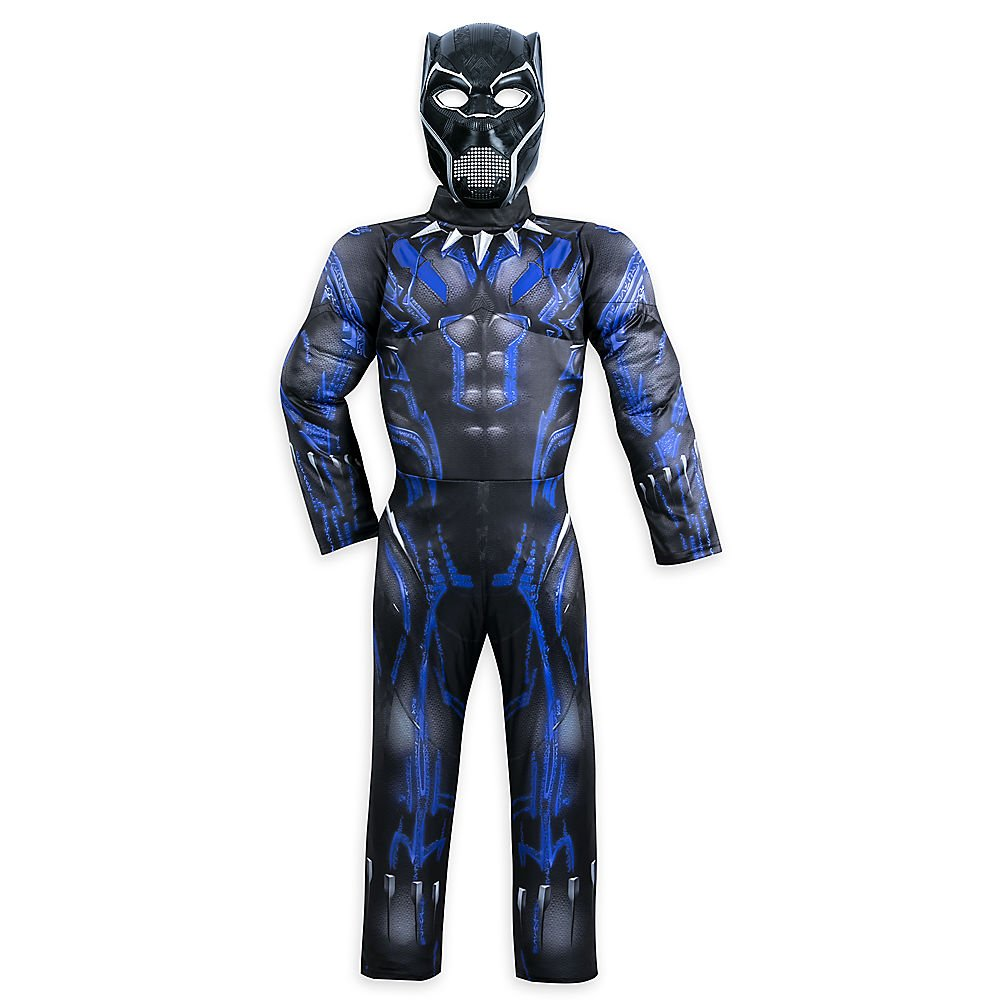Marvel Black Panther Light-Up Costume for Kids Size 7/8