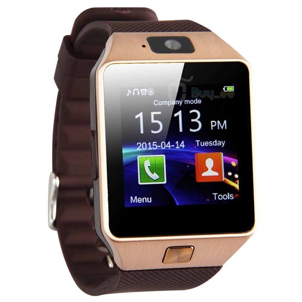 LeaningTech DZ09 Smart Watch with Camera SIM Card For Android IOS Phones Bluetooth High-performance