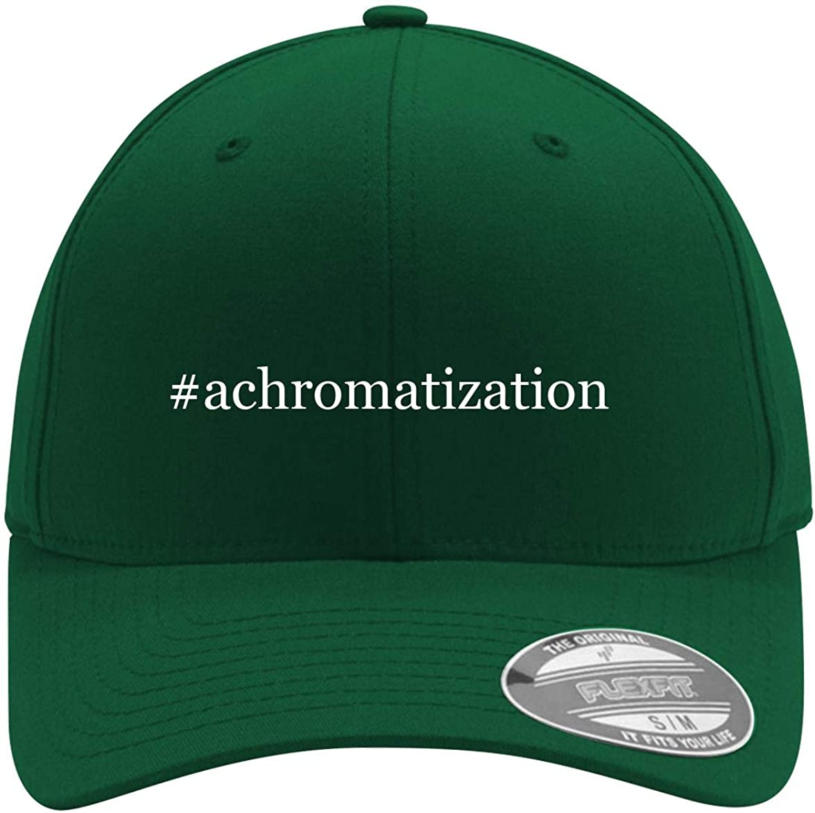 #achromatization - Adult Men's Hashtag Flexfit Baseball Hat Cap 61etL4cDMFL