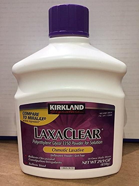 Kirkland Signature LaxaClear 50 Once-Dai…