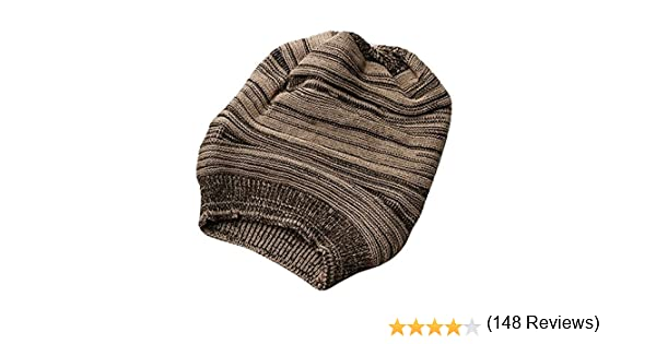 ee32fb20c11 Amazon.com   Leegoal 1PCS Fashion Warmer Knitting Ski Slouch Hip-hop Beret  Beanie Baggy Crochet Cap (Coffee)   Hair Care Products   Sports   Outdoors