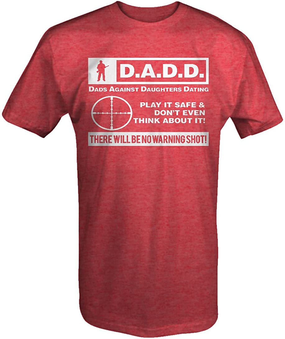 Lifestyle Graphix DADD Dads Against Daughters Dating Gun Rights T Shirt