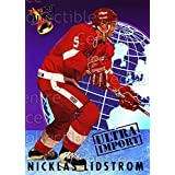 Nicklas Lidstrom Hockey Card 1992-93 Ultra Import #13 Nicklas Lidstrom