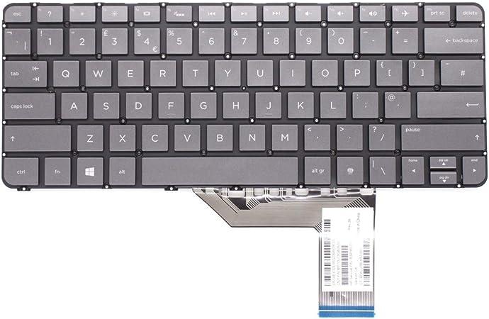 Wikiparts* Teclado de Repuesto para Ordenador portátil HP ...