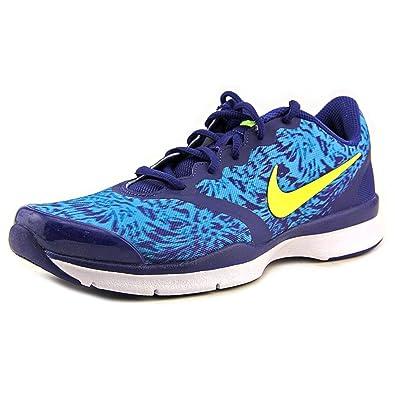 Nike In-Season TR 4 Print Womens Blue Lagoon/Volt/Royal Blue Training