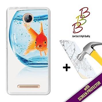 3B Funda Gel para Leagoo Z5 - Z5 LTE, [+1 Protector de Pantalla