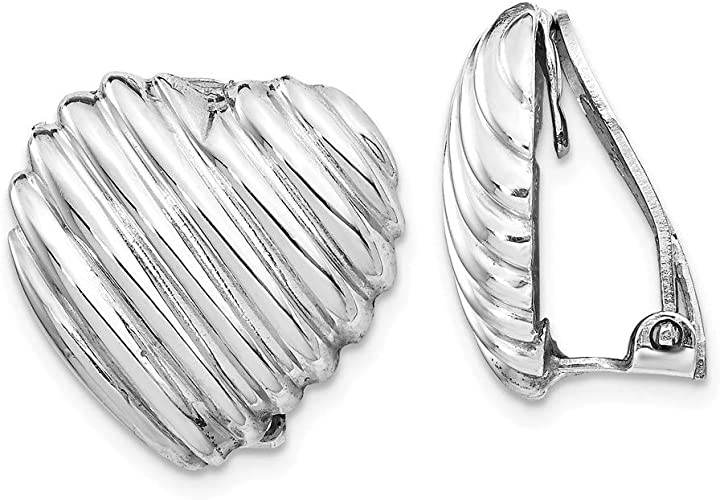 925 Sterling Silver Non-Pierced Earrings