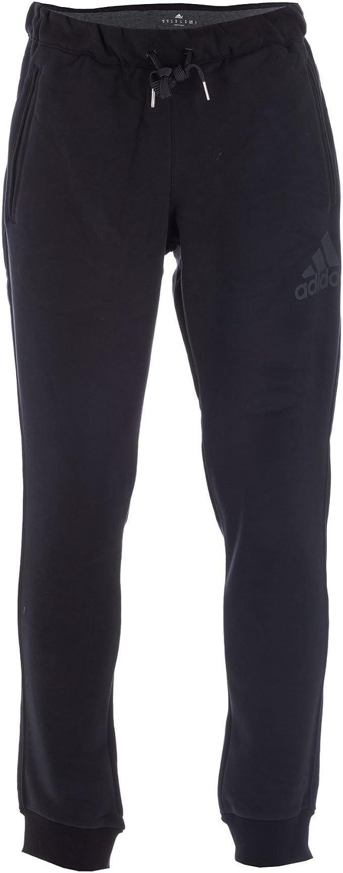 adidas Seasonal Logo – Pantalón Hombre, Hombre, Negro, XS: Amazon ...