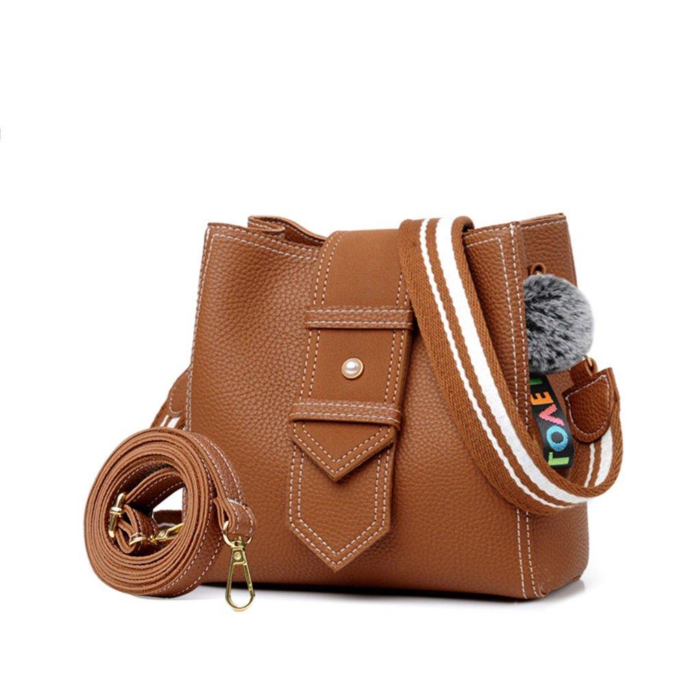 Slant Bag, Small Bag, Single Shoulder Bag, Bag, Purse,Khaki,20X21X11Cm