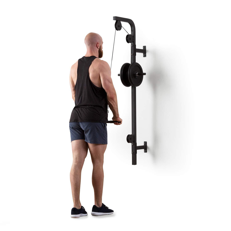Entrenamiento de biceps con polea cruzada