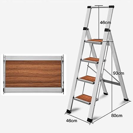 GWXSST Escalera Telescópica, Escalera Plegable Escalera en Espiga Escalera mecánica Escalera de Aluminio Escalera doméstica Aleación de Aluminio Engrosamiento y ensanchamiento Antideslizante: Amazon.es: Hogar