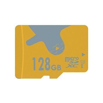 ALERTSEAL Tarjeta de Memoria microSDXC UHS-I (U3) Clase 10 (C10) de 128 GB con Adaptador SD