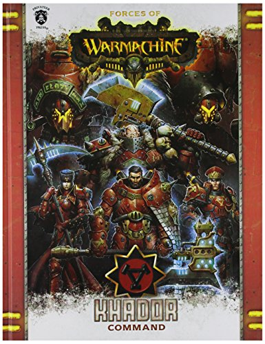 Privateer Press Forces of Warmachine: Khador Command HC (Book) Miniature Game PIP1083