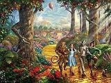 Thomas Kinkade/Warner Bros-Follow The Yellow Brick Road Puzzle