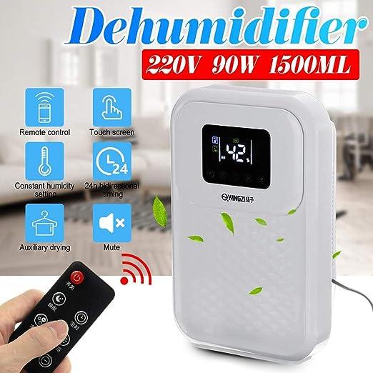 Deshumidificador del hogar,1.5L purificador de aire,puede matar ...
