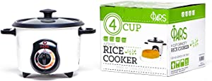 Pars Automatic Persian Rice Cooker - Tahdig Rice Maker Perfect Rice Crust, 4 Cup