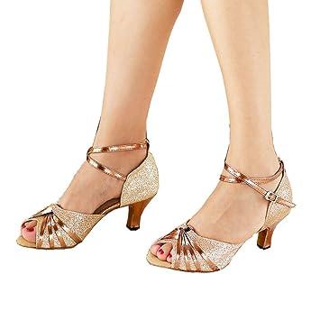 MUYII Frauen Sandalen Mit Neuen Weichen Bequemen Schuhe Latin Dance Schuhe Erwachsene Mit Ballroom Dancing Shoes