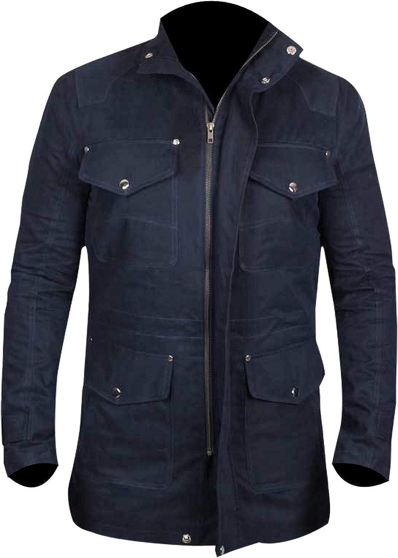 Navy Blue Dean Winchester Jacket