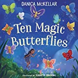 img - for Ten Magic Butterflies book / textbook / text book