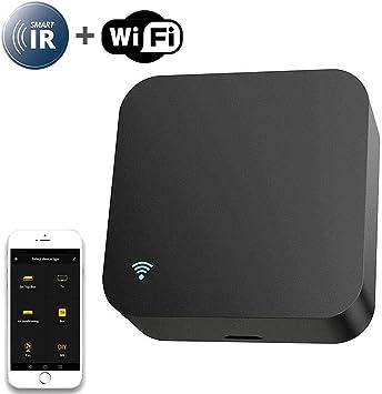 Lesgos Smart IR Mando a Distancia, WiFi Smart Home Controler, uno para Todos los mandos a Distancia IR Universal Compatible con Alexa, Google Home, TV, STB, Aire Acondicionado, DVD: Amazon.es: Electrónica