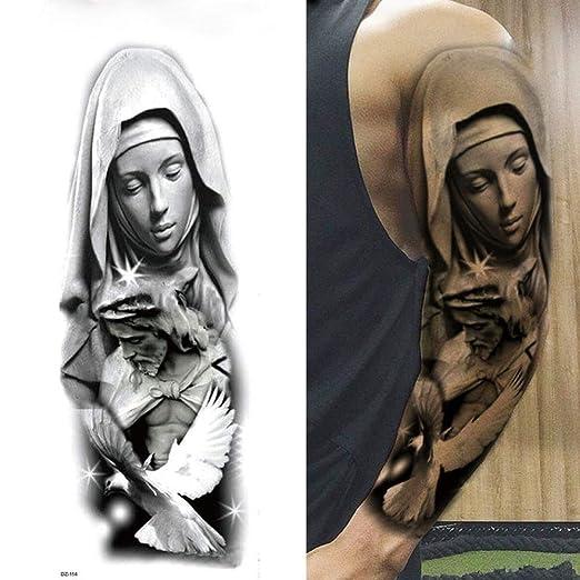 tzxdbh 5Pcs- Tatuaje De Brazo Completo, Adhesivos De Tatuaje ...