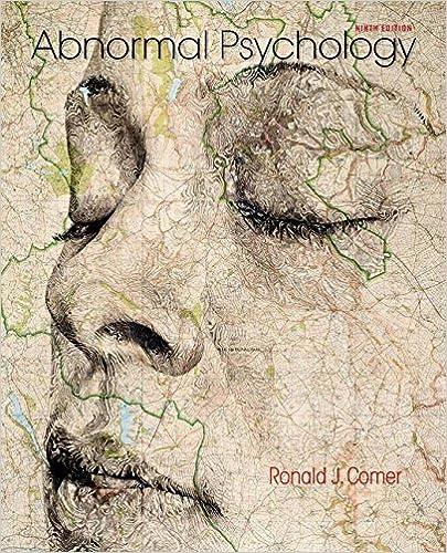 Amazon Abnormal Psychology 9781464171703 Ronald J Comer Books