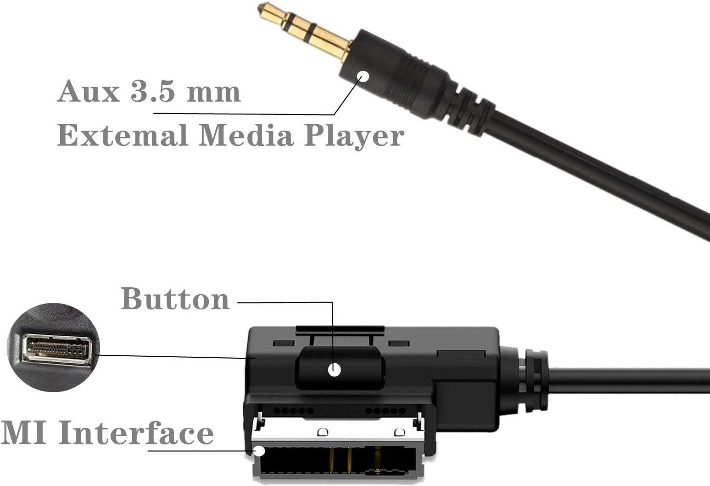 Ami Mdi Mmi Aux In Kabel Mp3 Musik Interface Adapter Elektronik