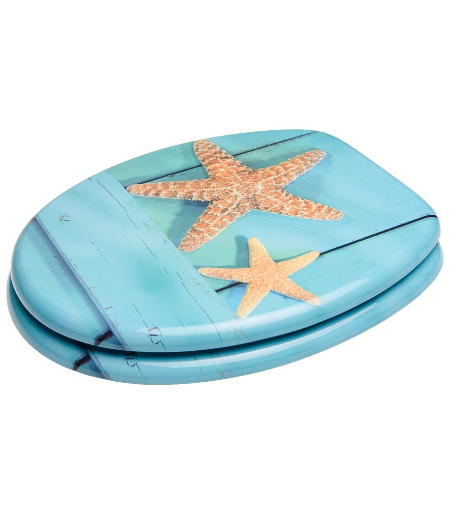 High Quality Toilet Seat Seafaring Wide choice of wooden toilet seats Easy to mount Stable Hinges
