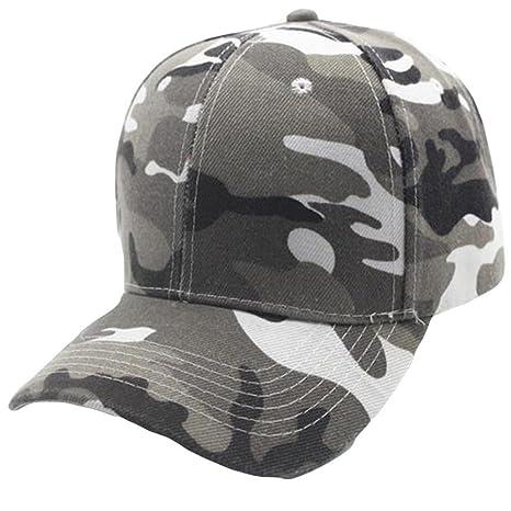 b562558b33b03 Absolute Gorras ☀ Unisex Gorra de Béisbol de Camuflaje Snapback Hat Hip-Hop  Ajustable (Gris)  Amazon.es  Ropa y accesorios