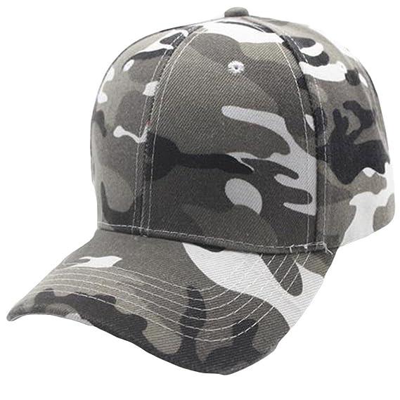 Absolute Gorras ☀ Unisex Gorra de Béisbol de Camuflaje Snapback Hat Hip-Hop  Ajustable c752e60ade0
