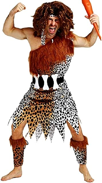KIRALOVE Pri01 - Disfraz de Hombre de Las cavernas primitivo ...