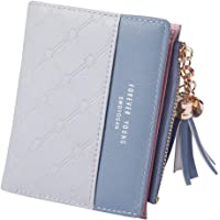 Card Holder Bag Wallets for Women Gifts Tassel Purse ROKOO PU Patchwork Money Wallet